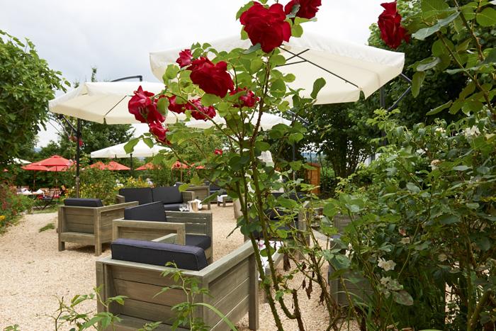 Restaurant Bienengarten - unser Garten