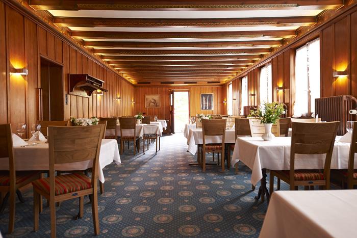 Restaurant Bienengarten - Tische