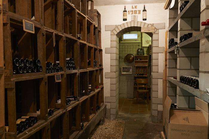 Restaurant Bienengarten - unser Weinkeller